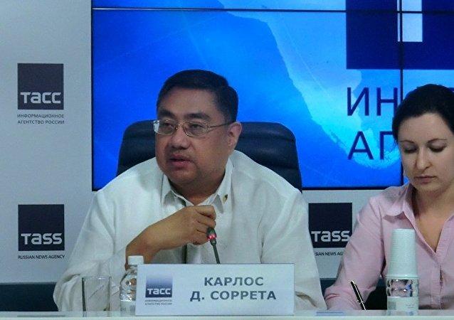 菲律賓駐俄聯邦大使卡爾洛斯•所列塔
