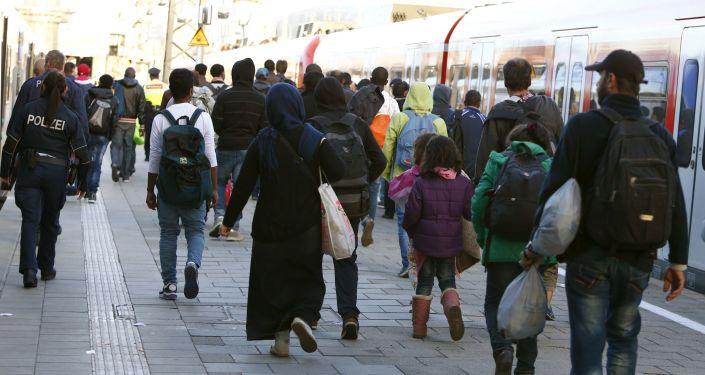 入德国难民