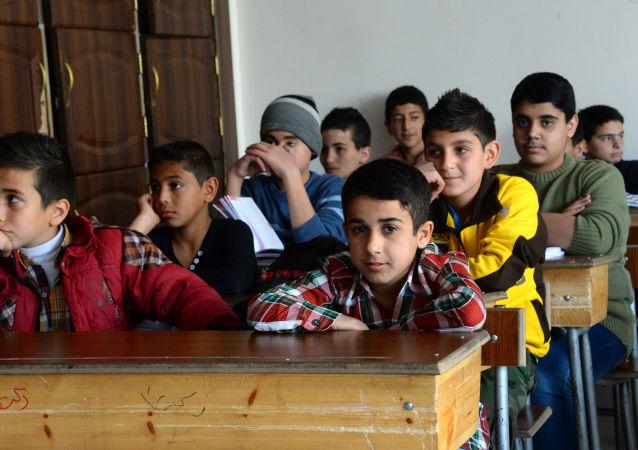 敘阿勒頗戰後重建約130所學校