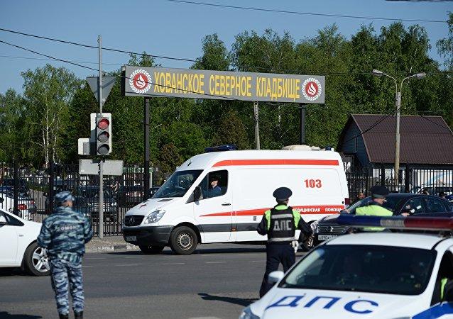 莫斯科霍万斯基陵园发生的事件