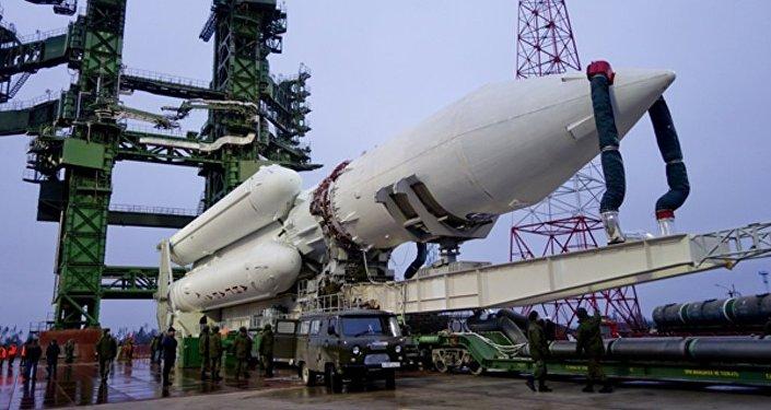 """赫鲁尼切夫中心称或于2017年开始""""安加拉A5V""""火箭的草图设计工作"""