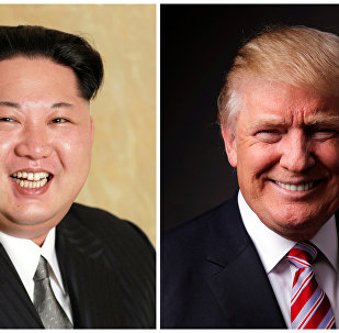 特朗普在新加坡与金正恩会晤中称他们会有很好的关系