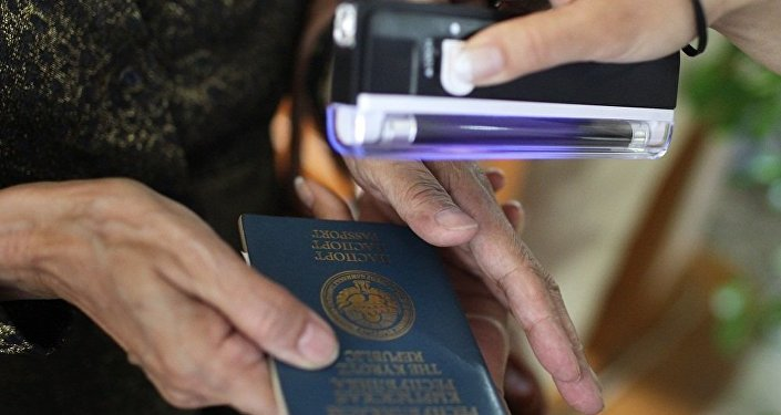 吉爾吉斯斯坦的護照