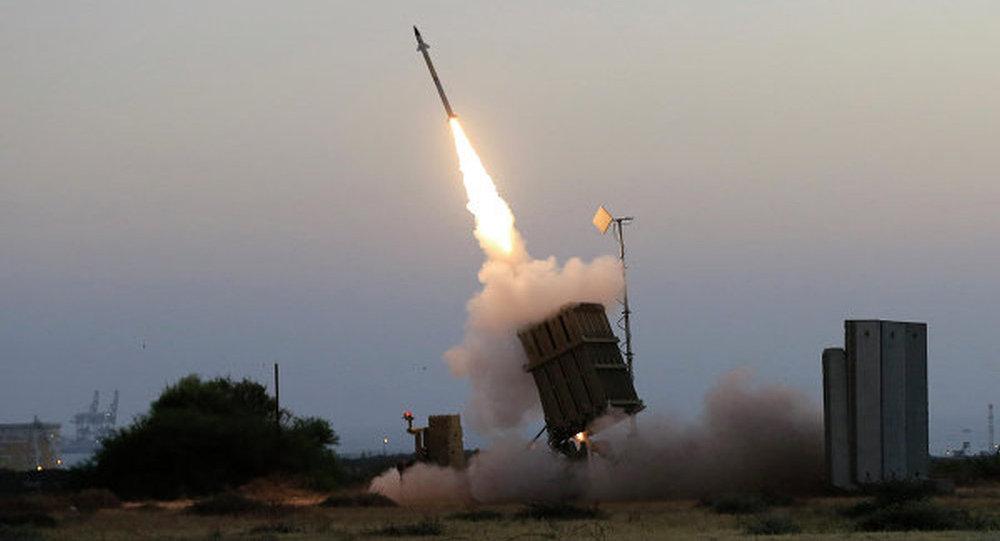 以色列「鐵穹」火箭彈攔截系統