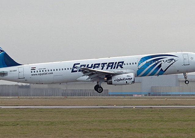 媒體稱,埃及失聯客機墜入大海