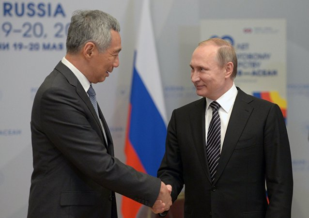 普京:将考虑与新加坡共同建立欧亚经济联盟自由贸易区的方案
