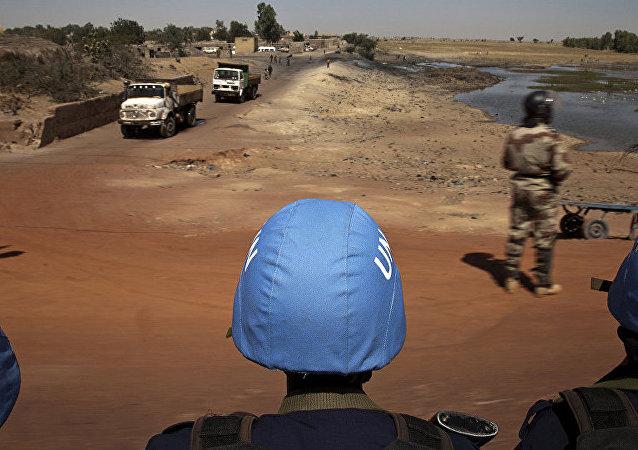 联合国维和人员在马里