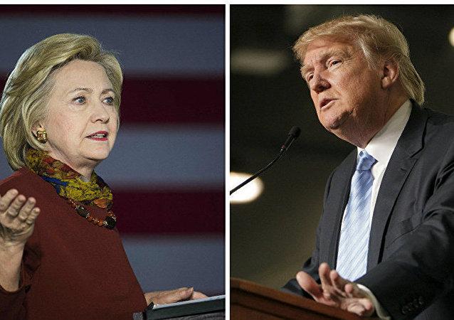 民调:奥兰多枪击案后特朗普与希拉里支持率差距缩小