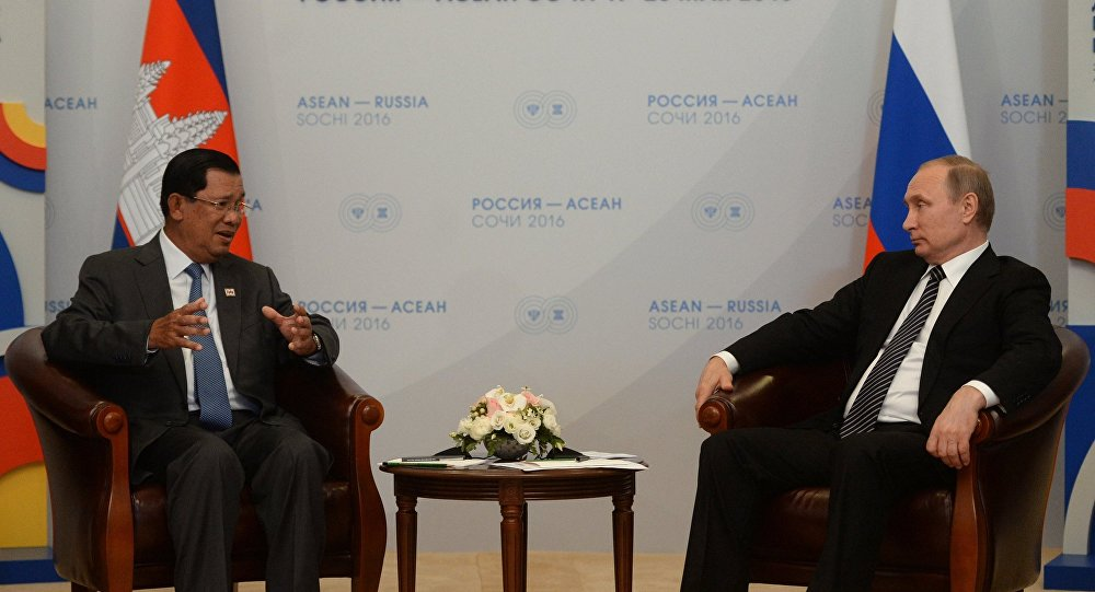 柬埔寨首相:俄罗斯可在重建柬埔寨基础设施的领域发挥关键作用
