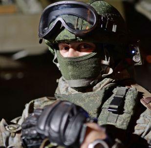 俄軍方開始測試被動外骨骼系統