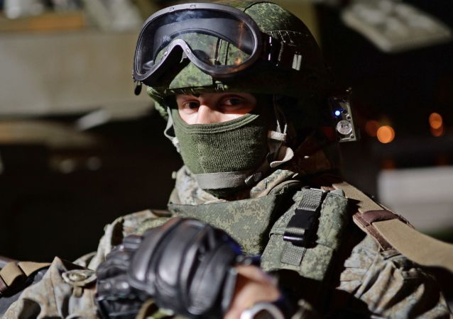 俄军方开始测试被动外骨骼系统