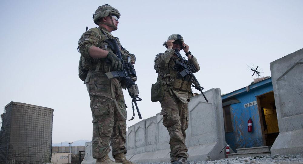 驻阿富汗美军