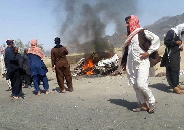 阿富汗特工部门证实塔利班头目毛拉曼苏尔被消灭