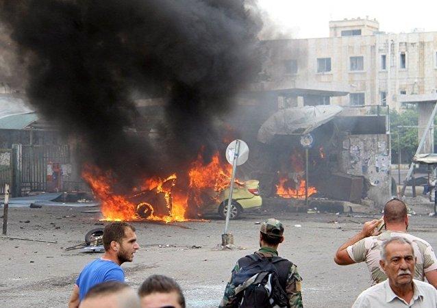 媒體:敘利亞拉塔基亞發生汽車炸彈爆炸 有死者