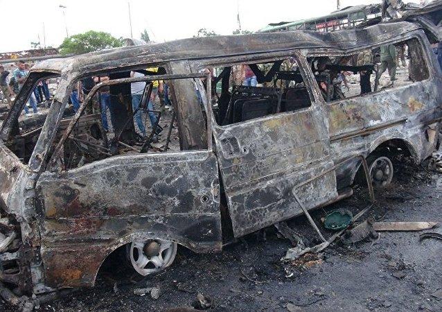敘利亞爆炸