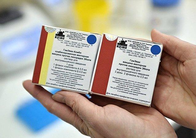 俄產埃博拉疫苗即將投入使用