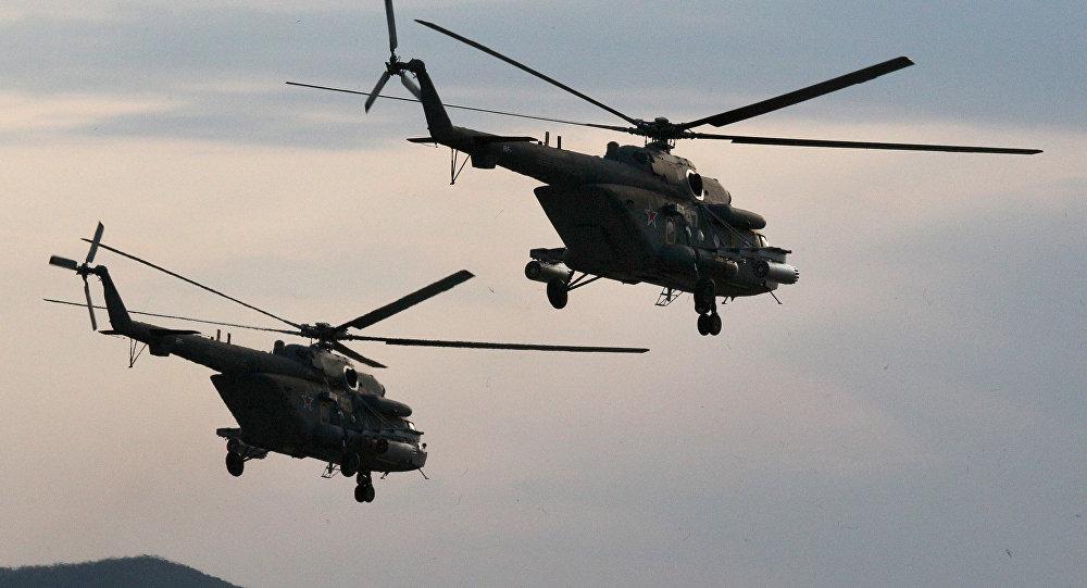 「終結者」極地直升機
