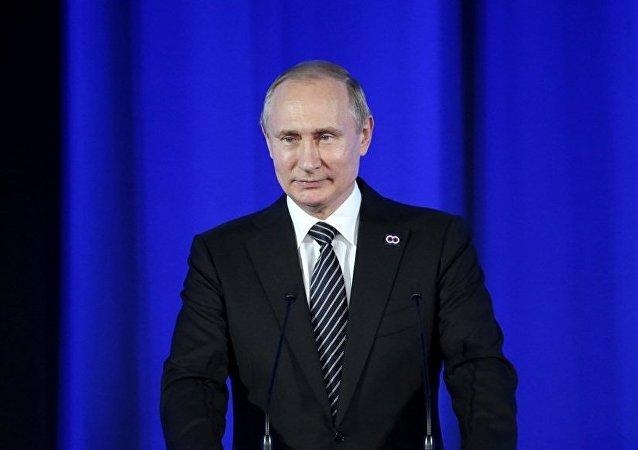 普京6月7日訪問「今日俄羅斯」祝賀通訊社成立75週年