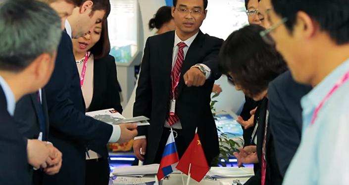 中国黑河代表团向俄雅库特科技园提议合作