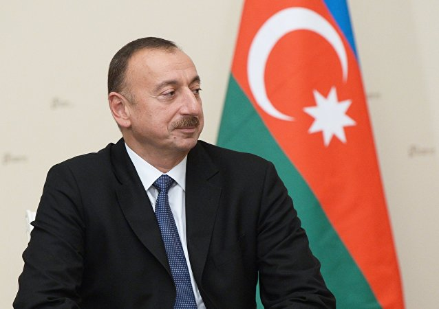 阿塞拜疆总统:该国将发展自己的军事实力