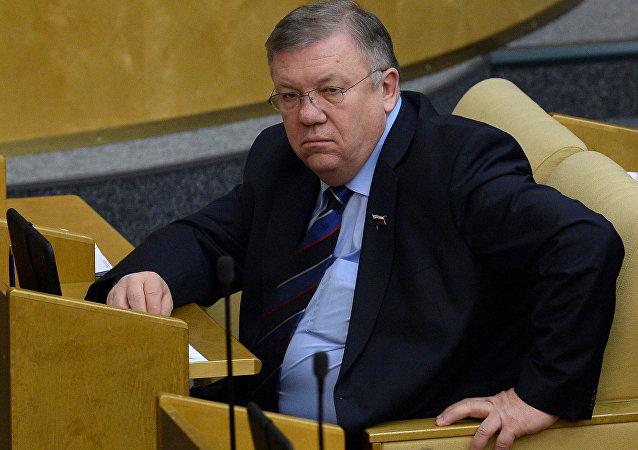 俄議員:北約前秘書長出任烏總統編外顧問不會促進俄烏關係改善