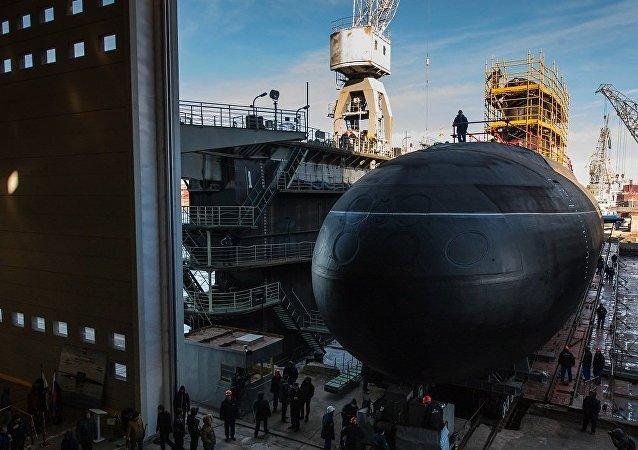 """俄海军将为太平洋舰队订购6艘""""华沙女人""""级潜艇"""