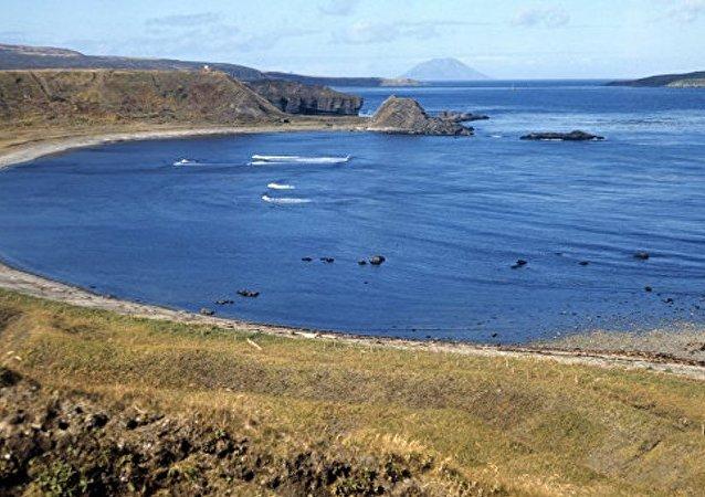 千岛群岛松轮岛开始恢复日军留下的机场