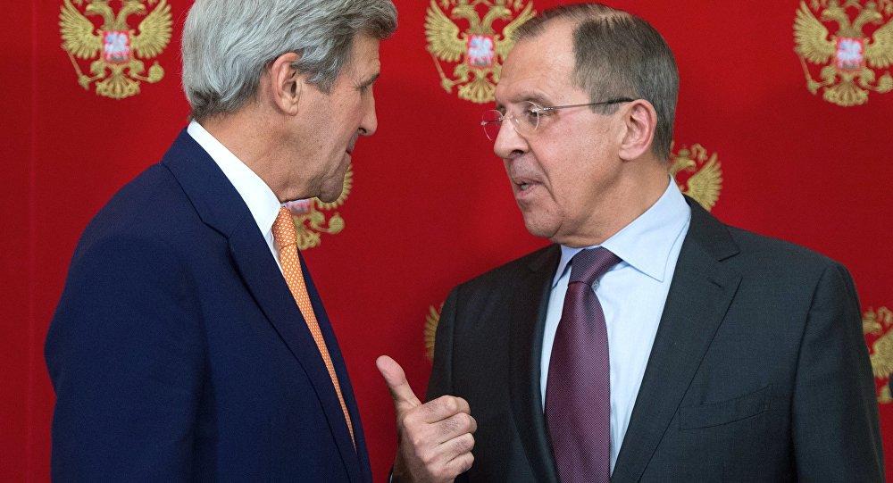 俄外長與美國務卿討論採取聯合行動在敘反恐的必要性