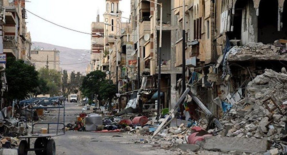 敘阿勒頗炮擊中受傷女孩被俄伊爾-76運輸機送至莫斯科