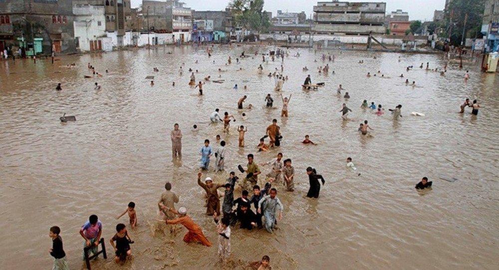 媒體:巴基斯坦北部暴風雨已致34死191傷
