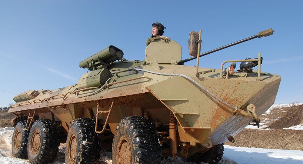 媒體:俄軍將接收一輛無聲裝甲車