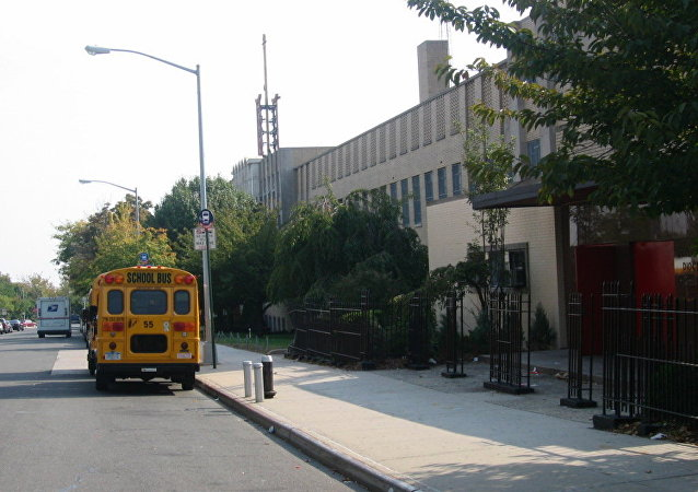 美国中学校