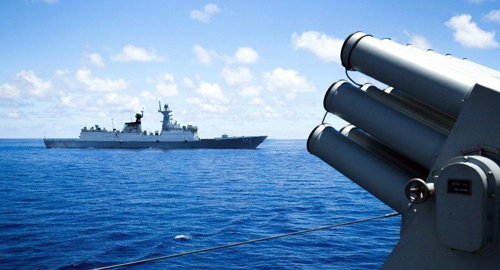 中國在南海問題上對美加大施壓力度