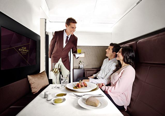 阿提哈德航空公司出售价值8.05万美元全球最贵机票