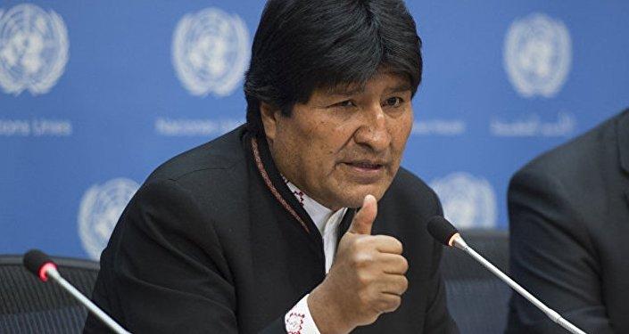 玻利維亞總統埃沃•莫拉萊斯