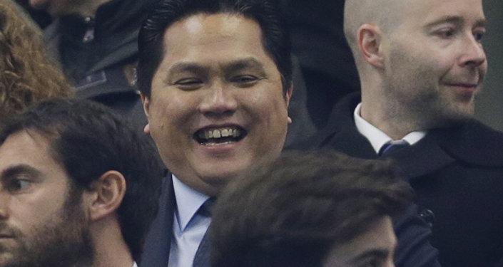 意大利國際米蘭足球俱樂部老闆埃里克·托希爾