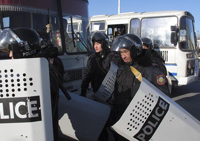 哈萨克斯坦每年避免数起恐怖袭击