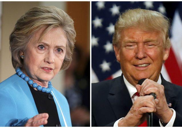 特朗普與克林頓