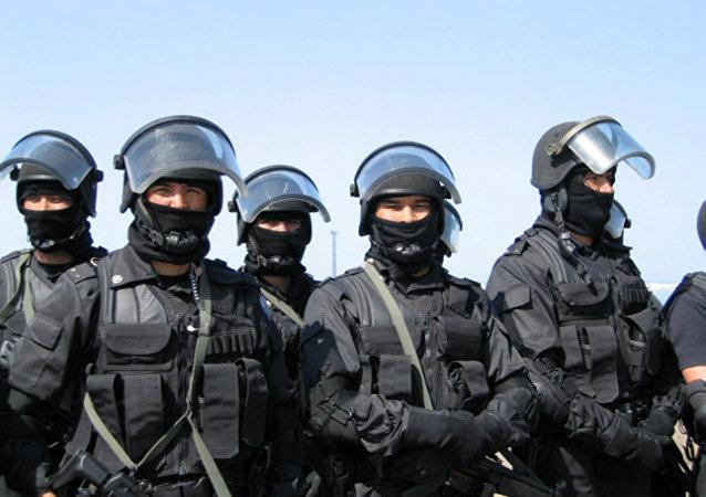 集安组织反恐演习在哈萨克斯坦启动