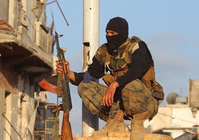 媒體:土耳其一家工廠強迫敘利亞兒童為IS武裝分子縫製軍裝