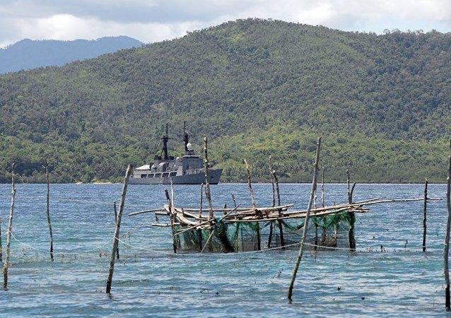中國建議菲律賓通過對話解決領土爭端