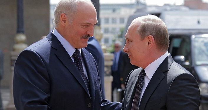 普京就白俄羅斯獨立日向盧卡申科表示祝賀