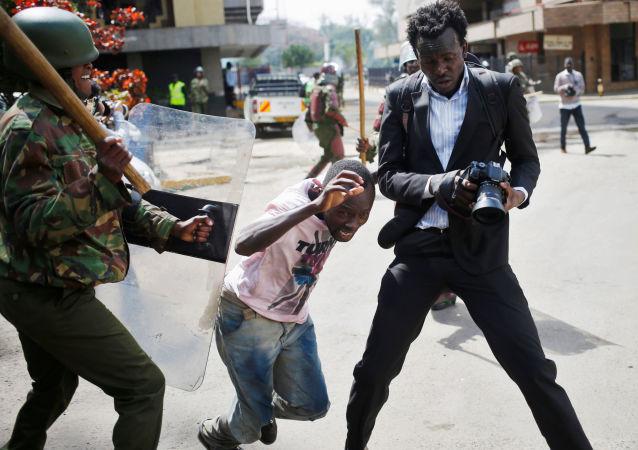 肯尼亞首都爆發大規模騷亂