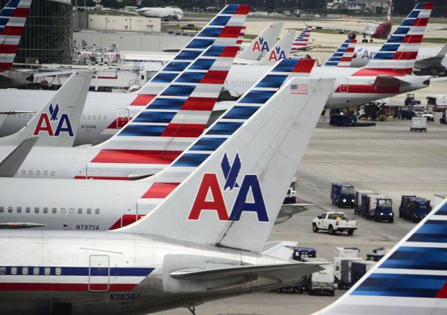 美國航空公司取消包括飛往中國在內的國際航班