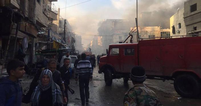 大马士革两起爆炸造成至少33人死亡,100多人受伤