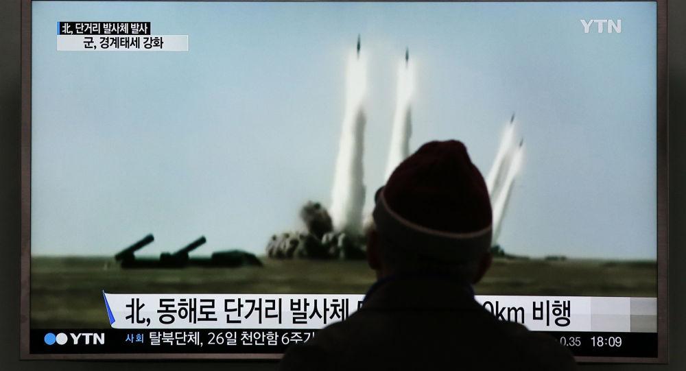 專家:平壤試射導彈打破東亞合作步伐 朝鮮半島隨時可能爆發戰爭