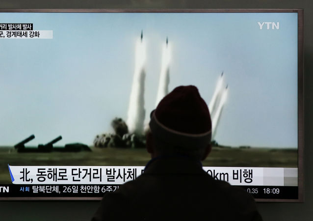 专家:平壤试射导弹打破东亚合作步伐 朝鲜半岛随时可能爆发战争