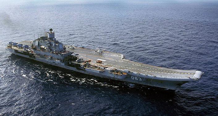 消息人士:俄航母「庫茲涅佐夫」號地中海航行計劃不變