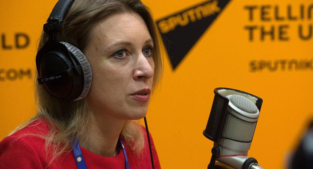 玛丽亚•扎哈罗娃