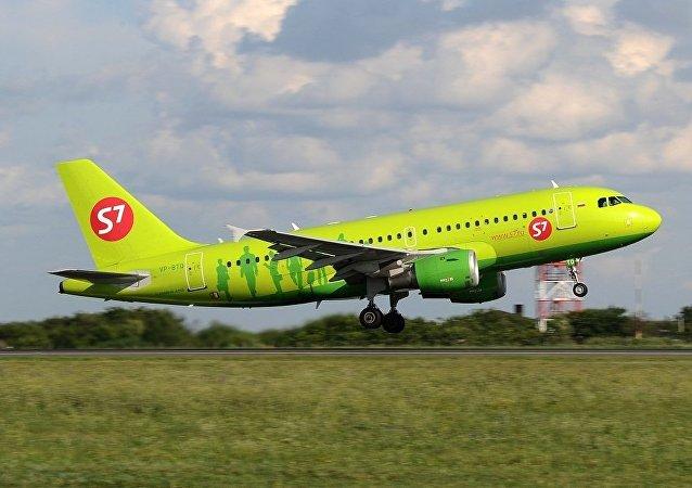 S7航空公司客機